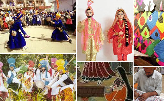 Art, Music, Dance, and Textile Traditions of Punjab