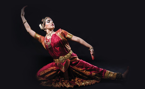 A Shining Peruvian Bharatanatyam Dancer