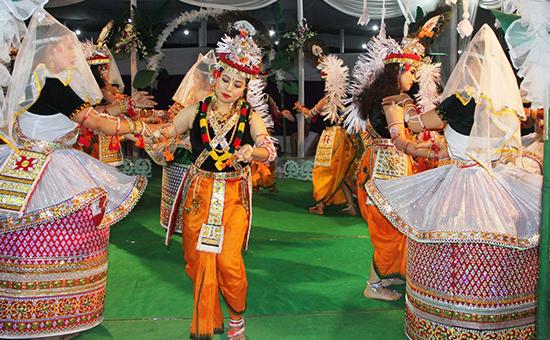 Manipuri Jagoi Marup is the Cultural Ambassador of Manipur