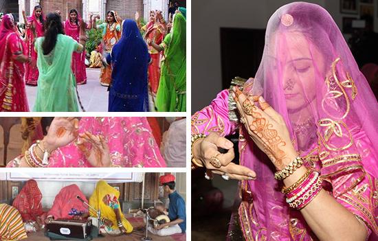GHOOMAR - An elegant dance form of Rajasthan