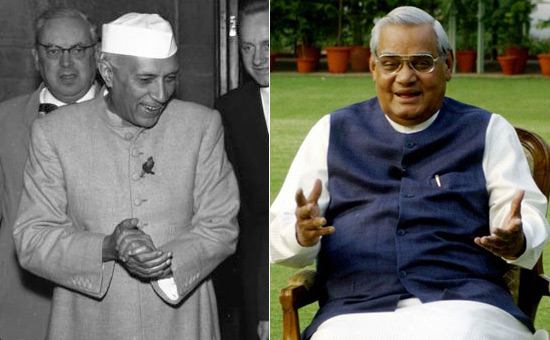 Similiarities between Nehru and Vajpayee