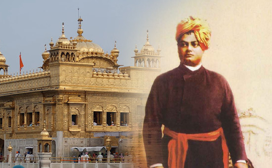 Swami Vivekananda in Punjab