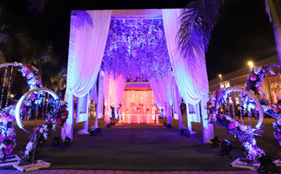 Which are the top wedding venues in Chattarpur Delhi