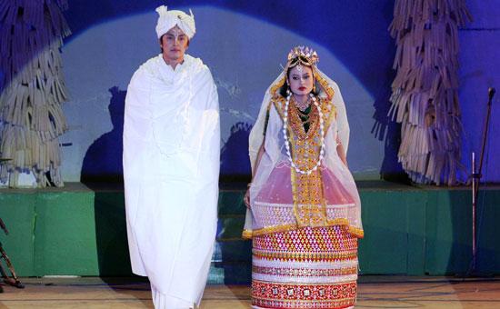 Manipuri Wedding Rituals - LUHONGBA