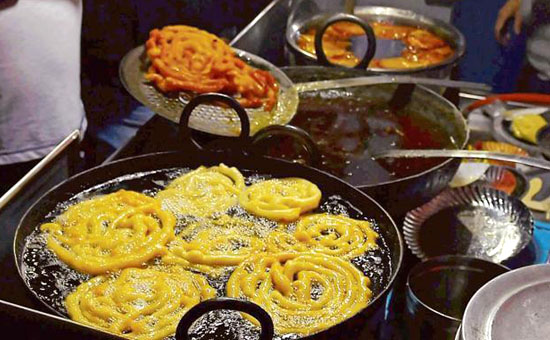 Indore is a great place for street food