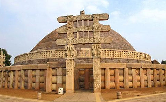 The SANCHI STUPA