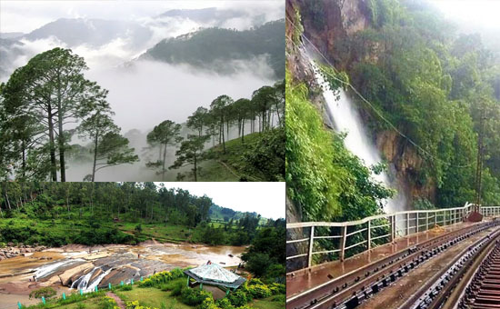 The Way To Araku Valley in Visakhapatnam is Through Nature
