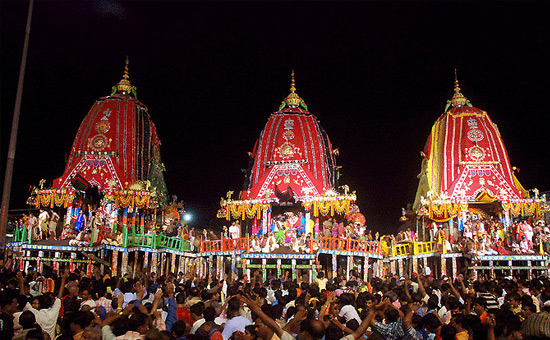 Jagannath Puri Rath Yatra in Hindi