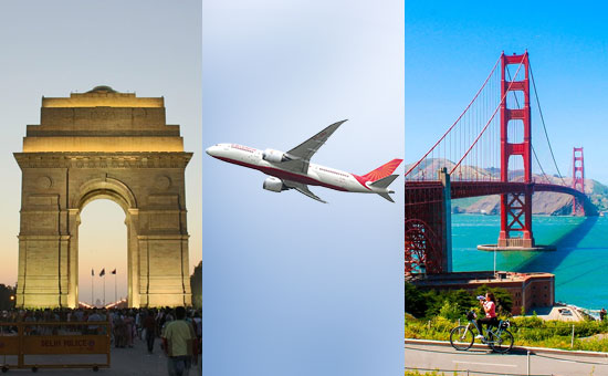 Flying Delhi to San Francisco nonstop with Air India