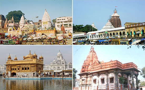 Destinations to Touch the Spiritual Traditions of India