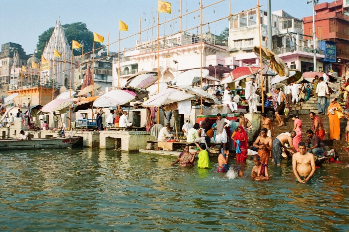 Why is Varanasi a pilgrimage destination