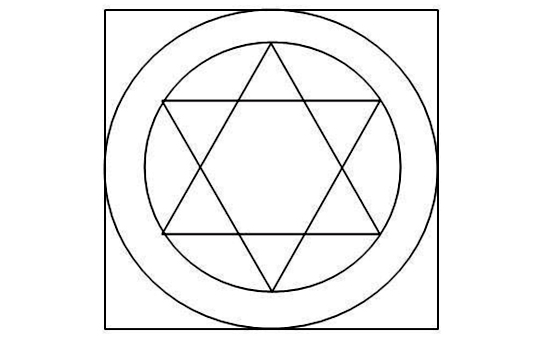 Interlocked Triangles The Symbol of Yoga