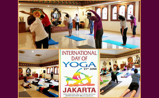 Taking Yoga to Indonesia