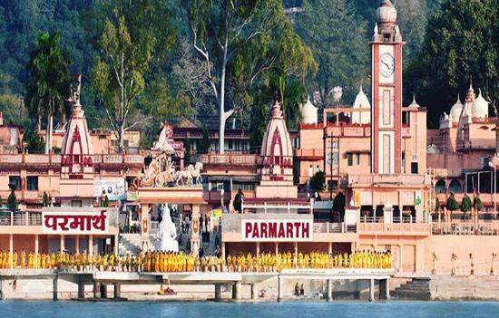 Yog Shibhir-Sadhana Saptha at Parmarth Niketan on banks of Maa Ganga