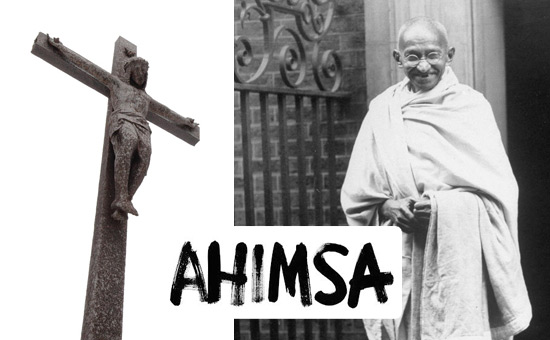 Gandhi, Ahimsa and Christianity