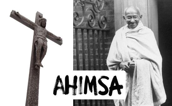 Gandhi, Ahimsa and Christianity
