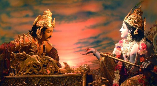 War and Non violence in the Bhagavadgita