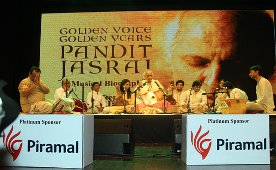 Golden Voice Golden Years A celebration into the world of the living legend Pt Jasraj