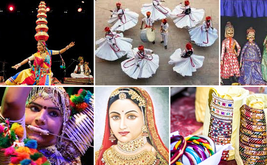 Arts, Music, Dance, Crafts, and Textile Traditions of Rajasthan