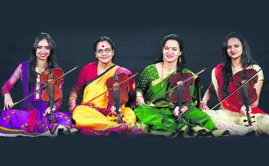 Three generations of Indian Women Violinist - Dr N Rajam
