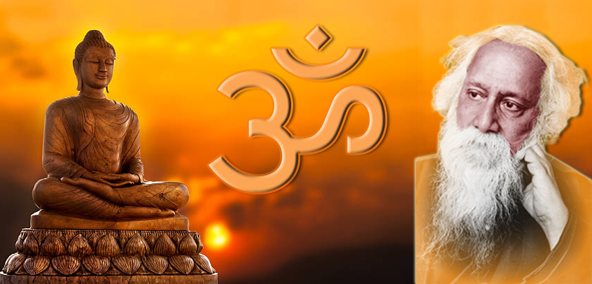 Brahmavihara, Hinduism & Tagore - A Note