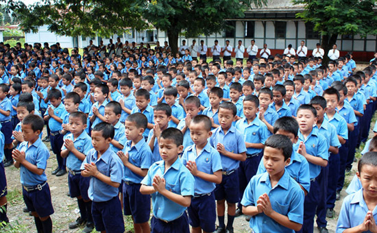 Support children of Arunachal Pradesh
