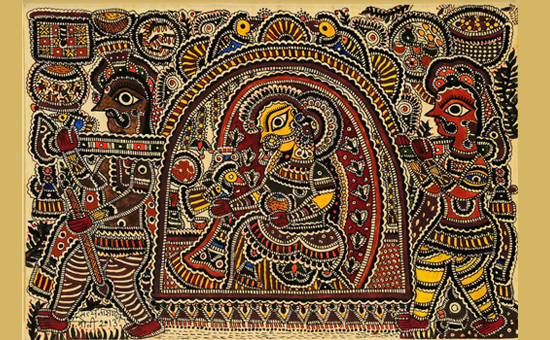 Madhubani Painting - An Endangered Traditional Indian Art Form