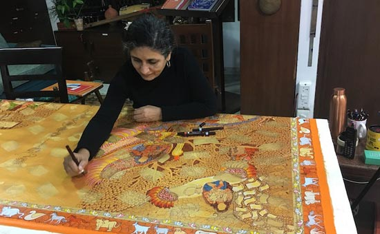 Interview with contemporary Indian artist Seema Kohli
