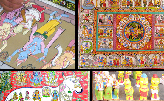 About PATTACHITRA Paintings, Odisha