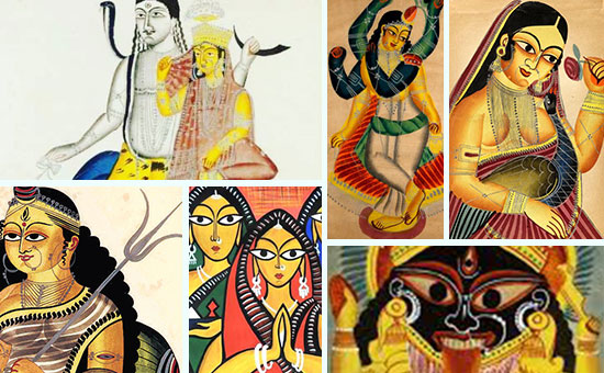 About Kalighat Painting, West Bengal