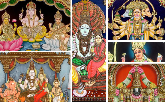 About TANJORE Paintings