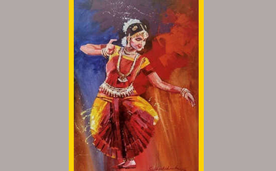 Classical Dance-A slice of Indian  culture through the Art of watercolour paintings