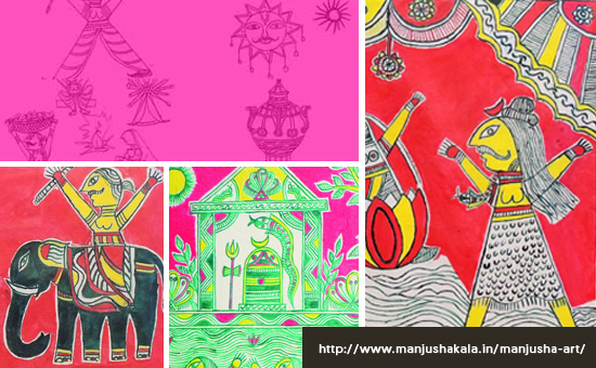 About MANJUSHA Painting, Bihar