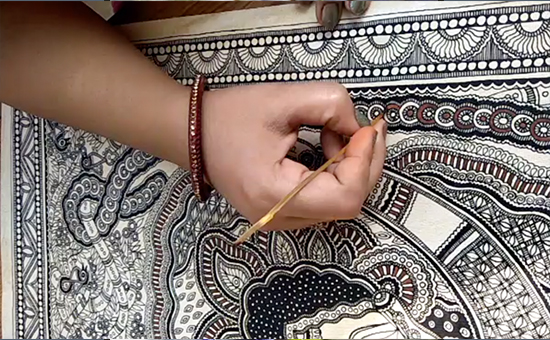 From MUD HUTS to PAPER, The Story of MADHUBANI PAINTING