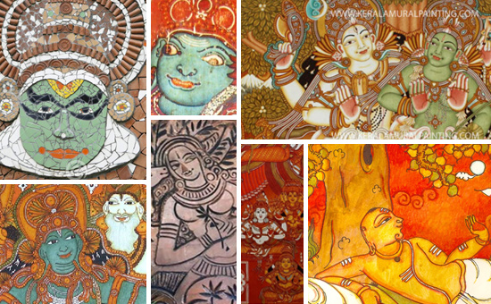 Kerala Murals are a Legacy in Colours