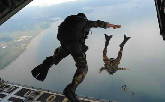 World Record Skydive Jump