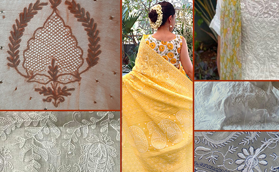 Where to buy CHIKANKARI in Lucknow, the city`s poetic textile