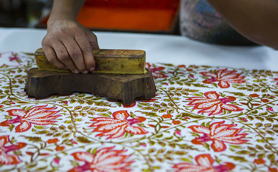 History of Hand Block Printing in India