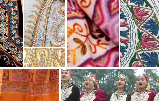 Handlooms of Jammu and Kashmir