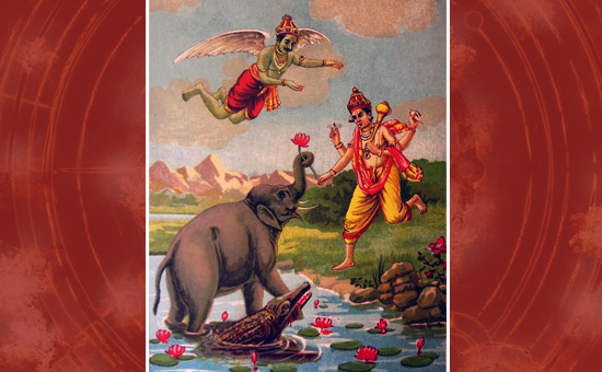 Salvation to the King Elephant- Gajendra Moksha from the Bhagavat Mahapuran