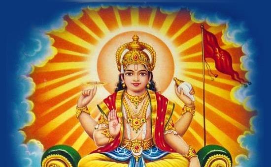 Surya, the `destroyer of darkness`