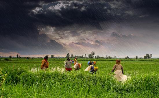 Bharat Varsha India- a monsoon island