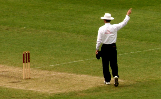 Are cricket umpires racist