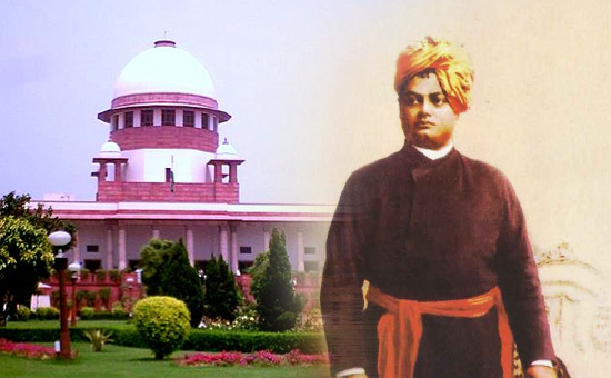 Swami Vivekananda in Supreme Court judgments