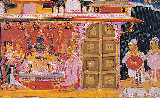 Krishna worship and Rathayatra Festival in Ancient Egypt