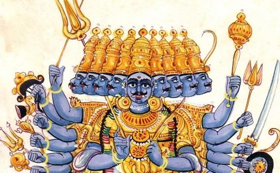 Ravana, Atma-Linga and Murdeshwara