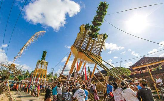 Usaba Dangsil is Bali`s Festival of Gratitude