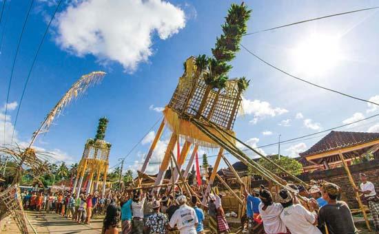 Usaba Dangsil is Bali`s Festival of Gratitude
