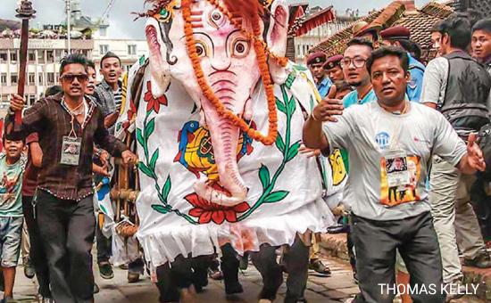 Nepal`s Indra Jatra Festival