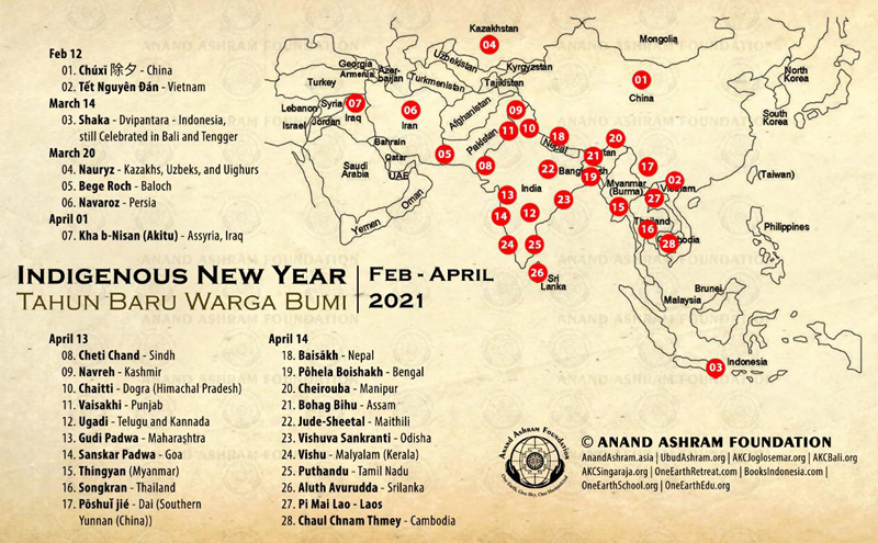 Indigenous New Year Asia, April 13-14